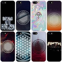 BMTH Bring Me the Horizon Black Plastic Case Cover Shell for iPhone Apple 4 4s 5 5s SE 5c 6 6s 7 Plus