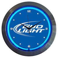 You should see this Bud Light Neon Clock in Blue on Daily Sales!