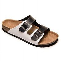 Birkenstock Woman Men Fashion Buckle Slipper Sandals Shoes