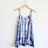 tie dye for dress | blue