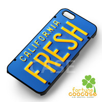 Funny license plate bel air will smith fresh prince -5rw for iPhone 6S case, iPhone 5s case, iPhone 6 case, iPhone 4S, Samsung S6 Edge