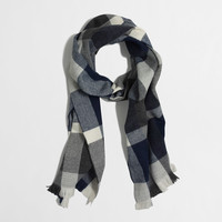 Factory plaid scarf : Cold-Weather Accessories | J.Crew Factory