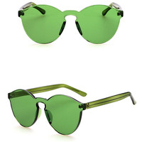 Colorist Sunglasses - Green