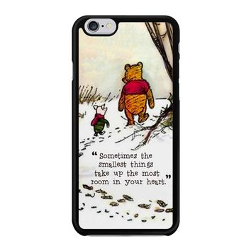 Winnie The Pooh Quote Iphone 6 / 6S Case