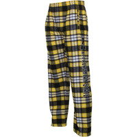 Appalachian State Mountaineers Classic Flannel Pants - Gold/Black