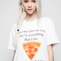 Hot Love and Pizza T-Shirt