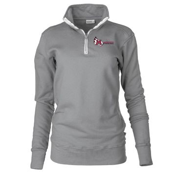 Official NCAA Meredith College Avenging Angels Unisex 1/4 Zip Up Fleece Pullover