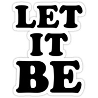 LET IT BE T-Shirts & Hoodies