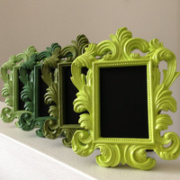 Any color chalkboard pictureframes baroque place by JaxandJos