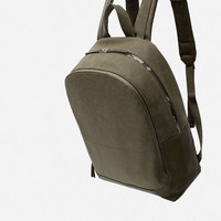 BACKPACK WITH CAMOUFLAGE DETAIL