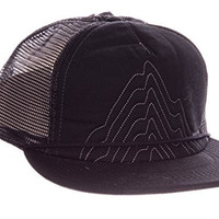 Burton New Dawn Fades Snapback Cap with Embroidered Mountain Logo