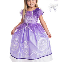 Little Adventures Amulet Princess Dress Up with Necklace, Bracelet & Hairbow