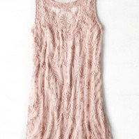 AEO Women's Layered Embroidered Dress