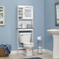 Over the Toilet Bathroom Cabinet in White