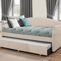 2019DBTF Westchester Daybed with Trundle - Fog Fabric