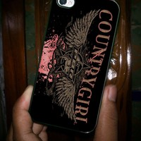 COUNTRY GIRL - iPhone 5 Case, iPhone 4/4s Case, Hard Case OCM