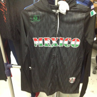 Mexico Ladies Soccer Hoodie Size Large Drako