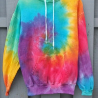 Bright Tie-Dye Hoodie, colorful, new, hipster, tumblr
