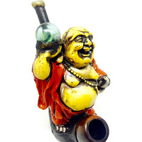 Resin Pipe - Buddha