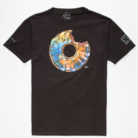 NEFF x The Simpsons Trippy Donut Mens T-Shirt   Graphic Tees