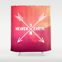 Heaven on Earth Shower Curtain by Josrick | Society6
