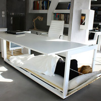 Desk Convertible to Bed by Athanasia Leivaditou | Pic | Gear