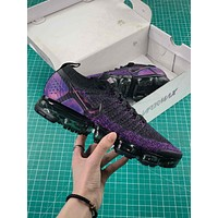 Nike Air Vapormax Flyknit 2.0 Black Night Purple Sport Running Shoes