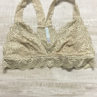 Seraphina Lace Bralette - Sand