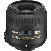 Nikon - AF-S DX Micro-NIKKOR 40mm f/2.8G Close-Up Lens for Nikon SLR Cameras