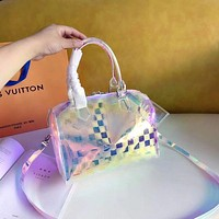 LV Louis Vuitton Fashion Women Laser Shoulder Bag Chic Handbag Crossbody