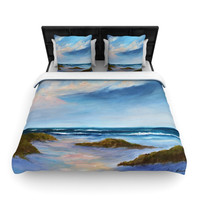 "Rosie Brown ""Summer Showers"" Beach Lightweight Duvet Cover"