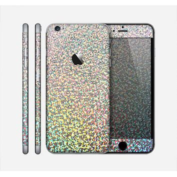The Colorful Confetti Glitter Skin for the Apple iPhone 6 Plus
