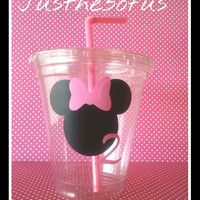 12/12OZ/ Minnie mouse party cups/minnie mouse cups/minnie mouse party/kids party cups/kids cups/minnie mouse birthday/minnie mouse