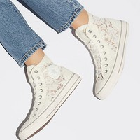 Flower Lace Hi Top Chuck