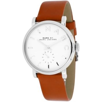Marc Jacobs Women's MBM1265 Baker Brown Leather Watch - 16375944 - Overstock.com Shopping - Big Discounts on Marc Jacobs Marc Jacobs Women's Watches