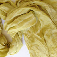 Hand dyed silk scarves, evening wrap, made in Italy, for man and woman