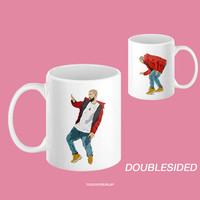 Drake Hotline Bling Dancing Double Sided Ceramic White Mug