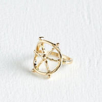 ModCloth Nautical Steer and Now Ring