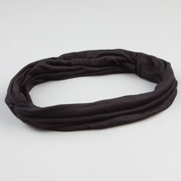 Full Tilt Twist Stretch Headband Black One Size For Women 24241010001