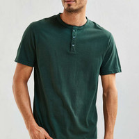 UO Standard Fit Henley Tee - Urban Outfitters