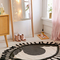 Tasseled Eye Rug | Urban Outfitters