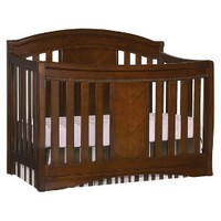 Simmons Kids Slumber Time Elite 4-in-1 Convertible Kids Crib - Espresso Truffle