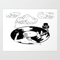 In the mood for love Art Print by hennkim