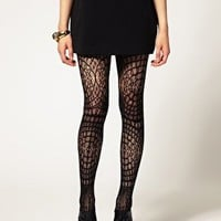 ASOS Crochet Lace Tights at asos.com