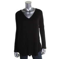 We The Free Womens Knit V-Neck Tunic Top