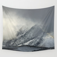 """The Mountain"" Wall Tapestry by Guido Montañés"