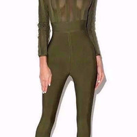 Beverly Bandage Jumpsuit