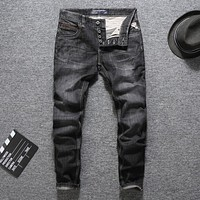 Italian Designer Men Jeans Fashion Streetwear
