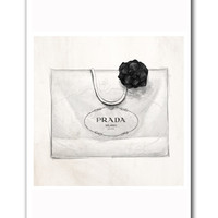 Oliver Gal Milano Shopping Bag Wall Art Print | zulily