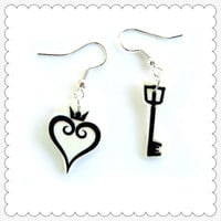 "Kingdom Hearts Accessories ""Heart & Key"""